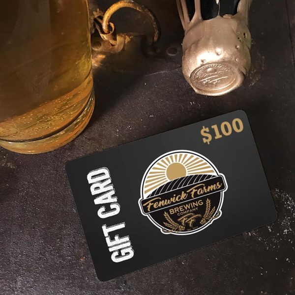 Craft Brewery Gift Cards 100 dollars